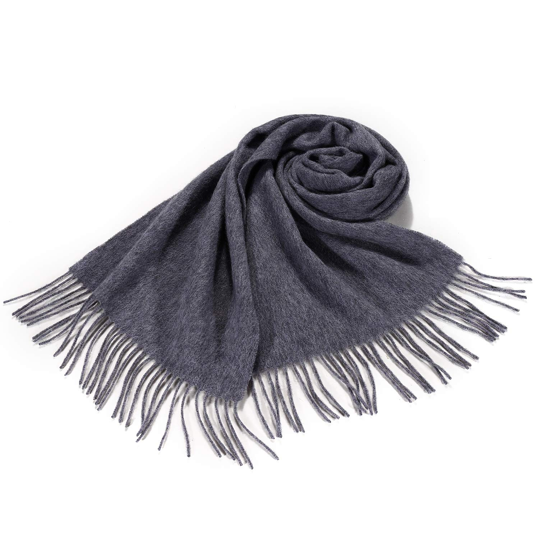 f38946fbd553 i+k Écharpe en cachemire et laine de mérinos - 100% laine Écharpe en