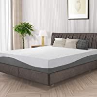 Olee Sleep Memory Foam Mattress 10 Inch Cool I Gel Infused