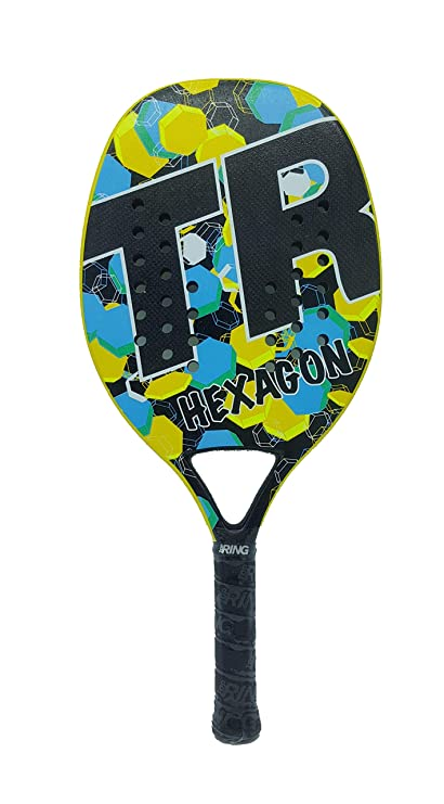 Amazon.com : Top Ring Racket Racquet Beach Tennis Hexagon 2019 : Sports & Outdoors