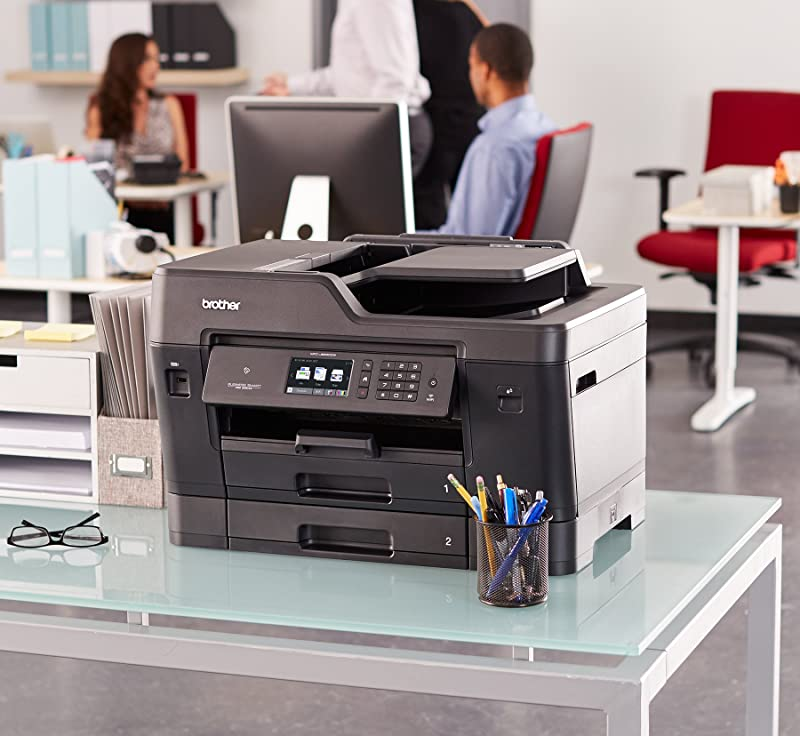Brother MFC-J6930DW All-in-One Color Inkjet Printer, Wireless Connectivity, Duplex Printing
