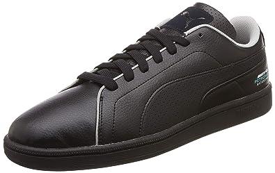 Herren PUMA Sneaker 'MERCEDES AMG PETRONAS Court Perf' Leder