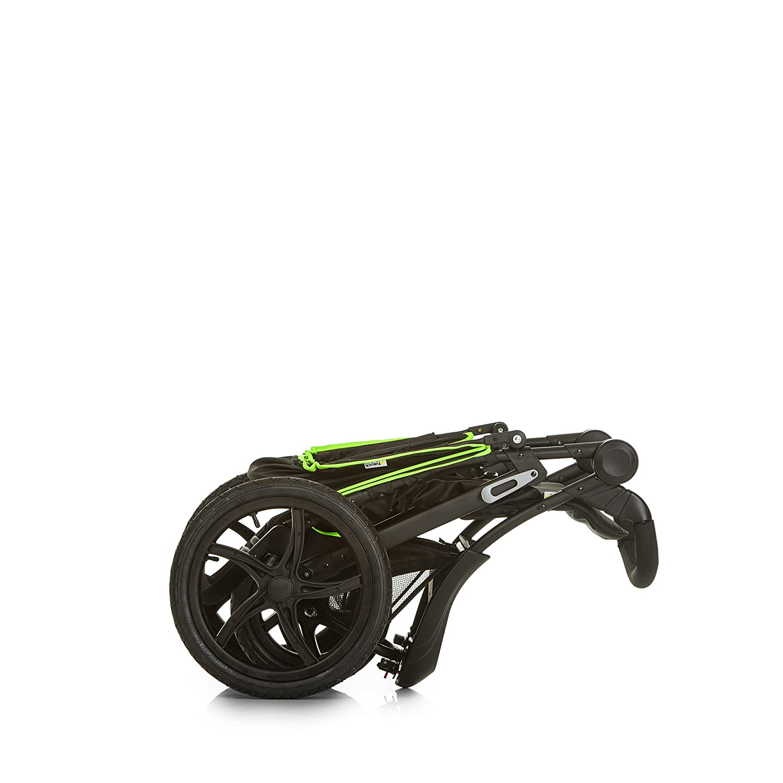 apto para ni/ños hasta 25kg ruedas XL con camara de aire silla running con 3 ruedas neumaticas para recien nacidos oil beige silla de paseo plegado compacto Hauck Runner