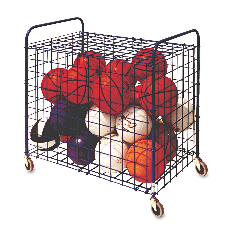 Champion Sports Full Size Lockable Ball Storage Locker (36 Inch x 24 Inch x 36 Inch)