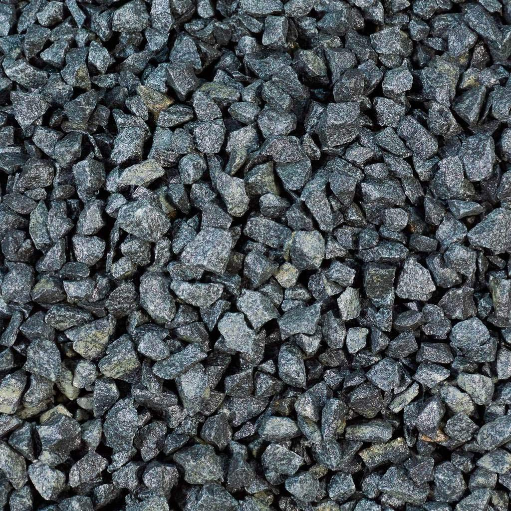 by Crack A Deal Driveway Plant Pot Topping Fish Friendly Garvel 5KG Black Basalt Gravel 20MM Chipping Stones for Garden