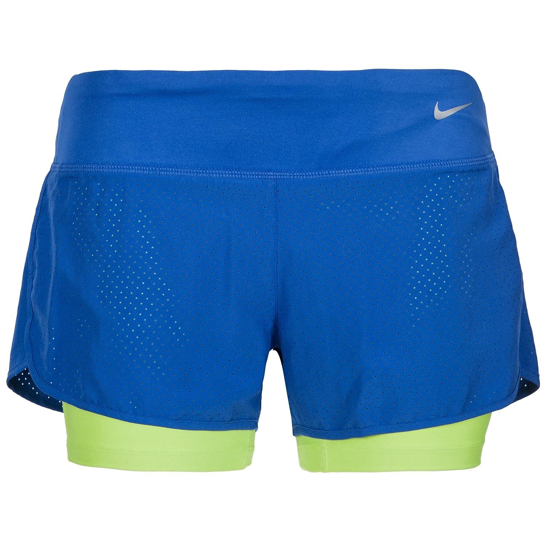 Nike pantal/ón Rival Perforated 2-In-1 Pantalones Cortos para Mujer