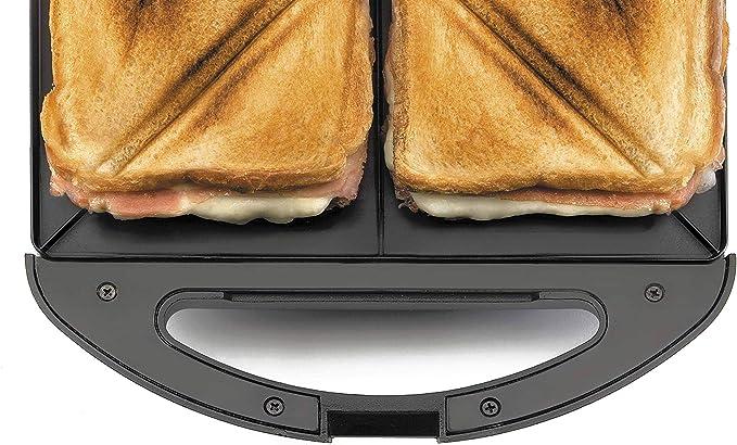 Lacor 69148 Elektrischer Sandwichmaker,Dreieck-Schei