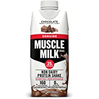 Deals on 12-Count Muscle Milk Genuine Protein Shake Chocolate 11oz