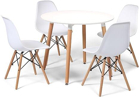 Sedie Bianche E Legno : Stile nordico il binomio bianco e legno nell architettura d interni