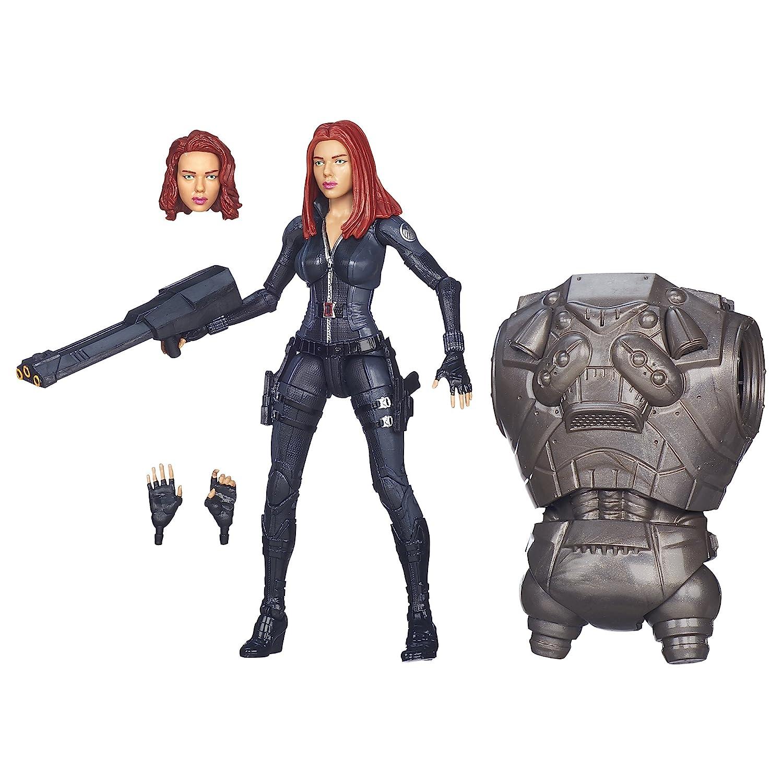 Captain America Marvel Legends Black Widow Figure 6 Inches Hasbro A6220000