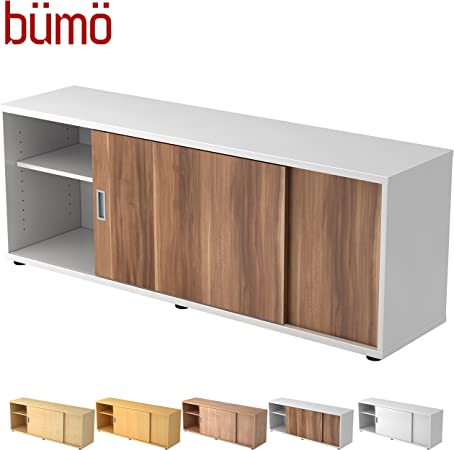 Aparador de madera con puerta corredera | De oficina con puertas correderas de armario | Para