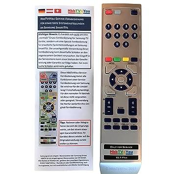 Hbbtv4you Service Fernbedienung Für Samsung Smart Amazonde Elektronik