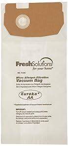 Eureka 70336 Eureka AA Micro Filtration Vacuum Bags, 3-Pack