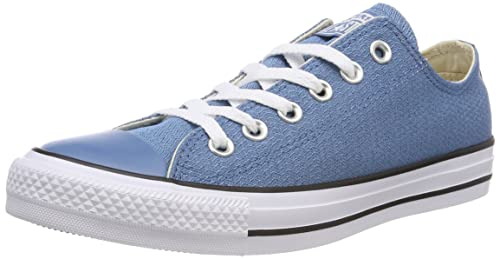 b323d56990412 Converse Unisex Adults' CTAS Ox Aegean Storm/Black/White Trainers