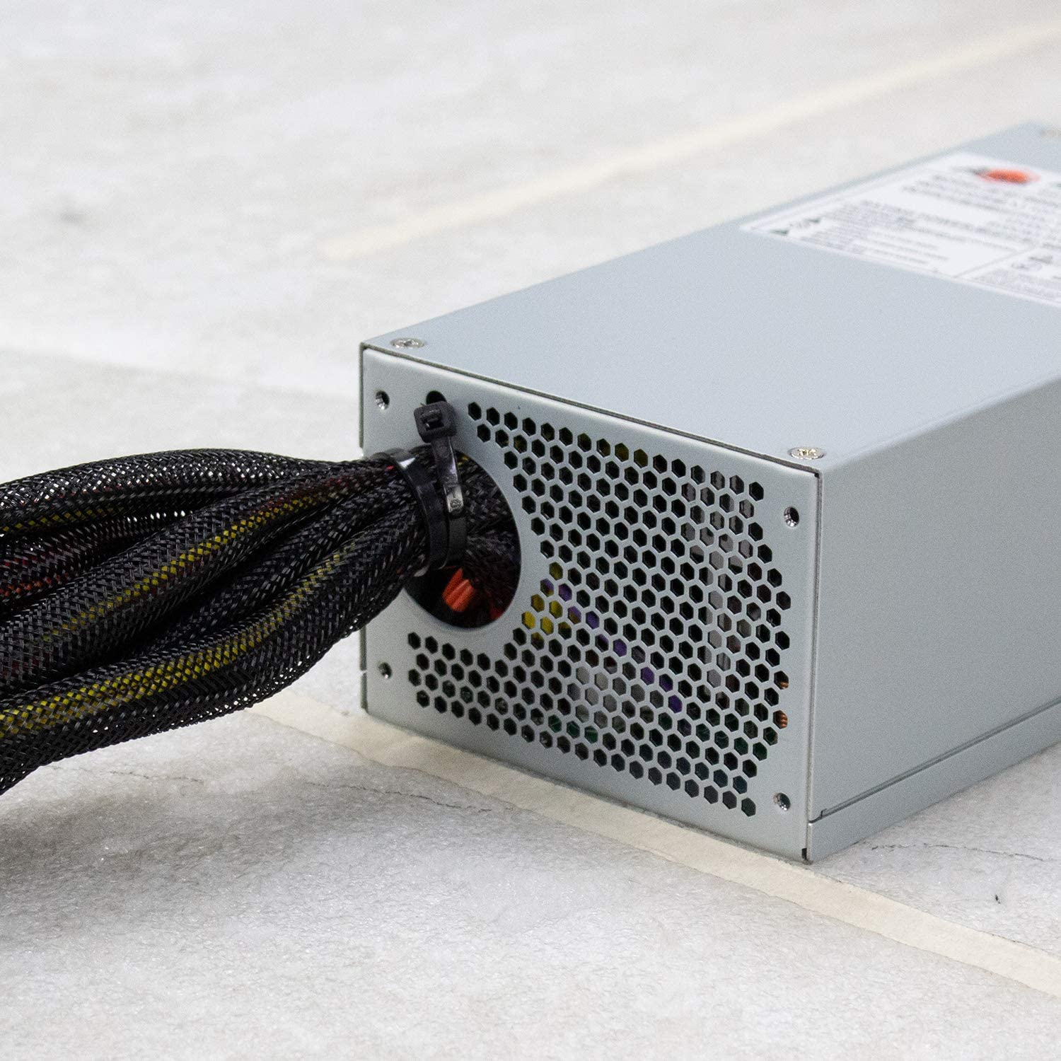 JINDIAN Standard 2U Power Supply Rated 500W 600W 800W Industrial Industrial Control Server Server Chassis Rack-Mounted Computer Host CPU Power Supply 600W Standard 2U-ATNG GD