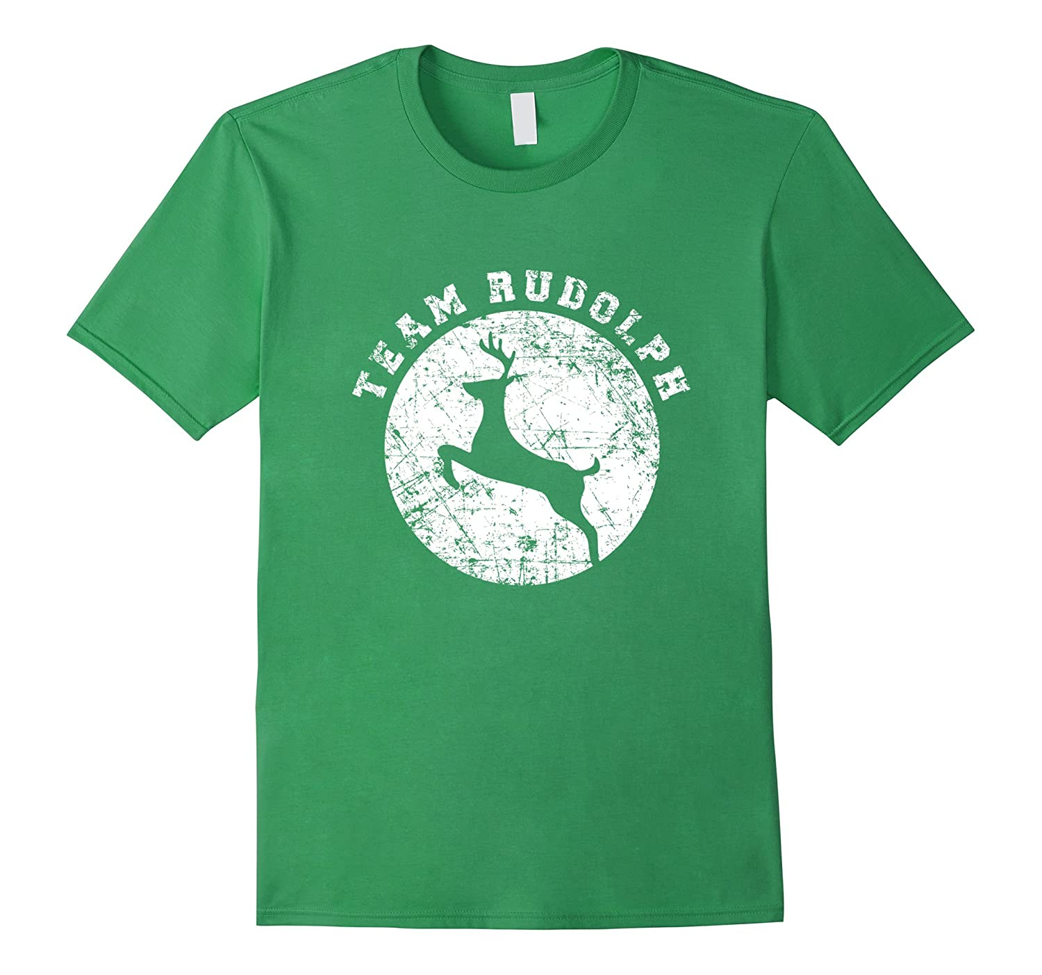 47338069 Team Rudolph Shirt Funny Cute Christmas Gift for Kids Adults-ANZ