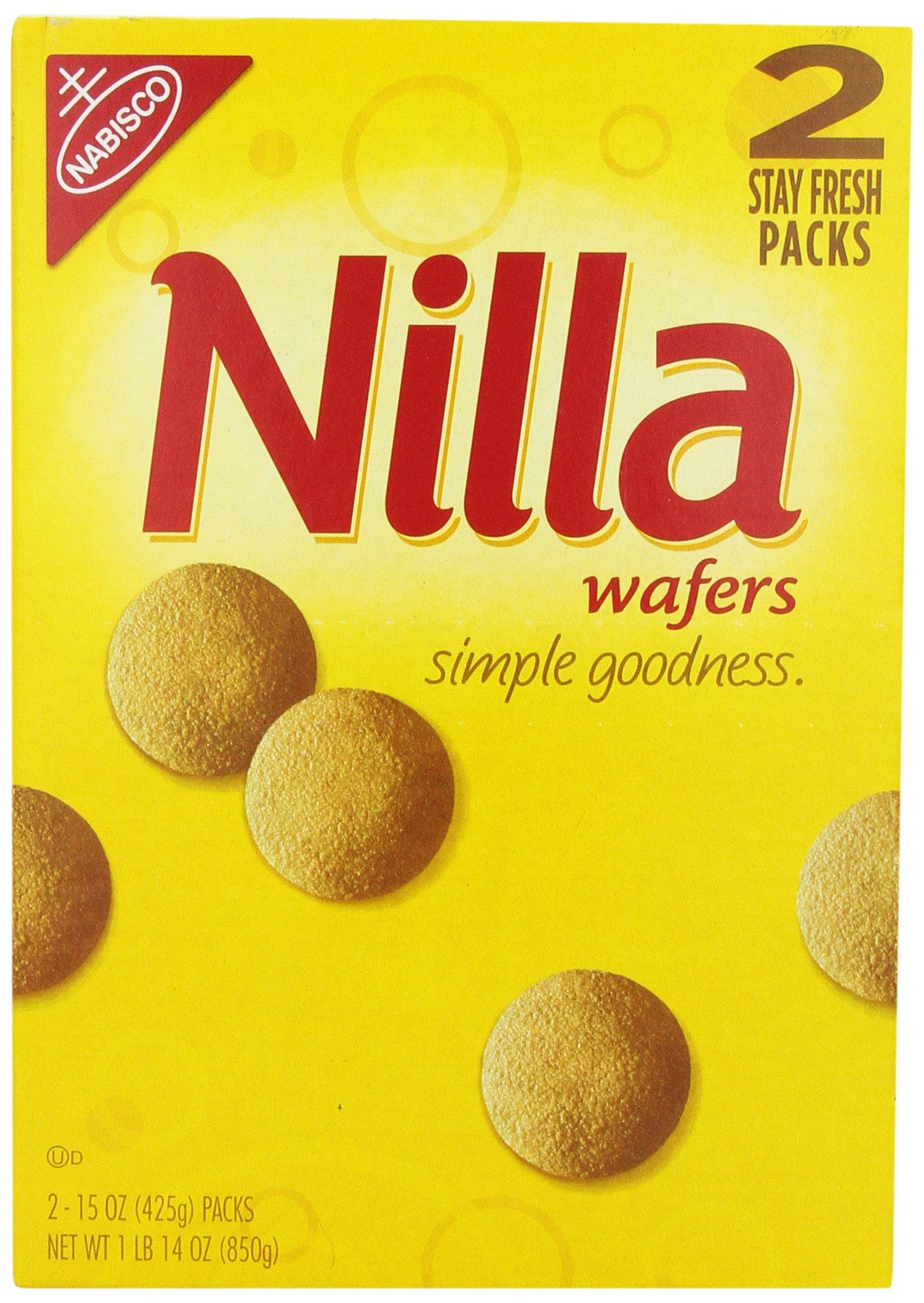 Nabisco Nilla Wafers, 850 gm by Nabisco