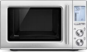 Breville BMO850BSS Smooth Wave Countertop Microwave Oven, Brushed Stainless Steel