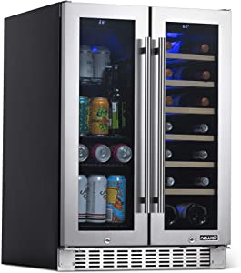 NewAir NWB080SS00 Wine Refrigerator, Stainless Steel, 58 Can