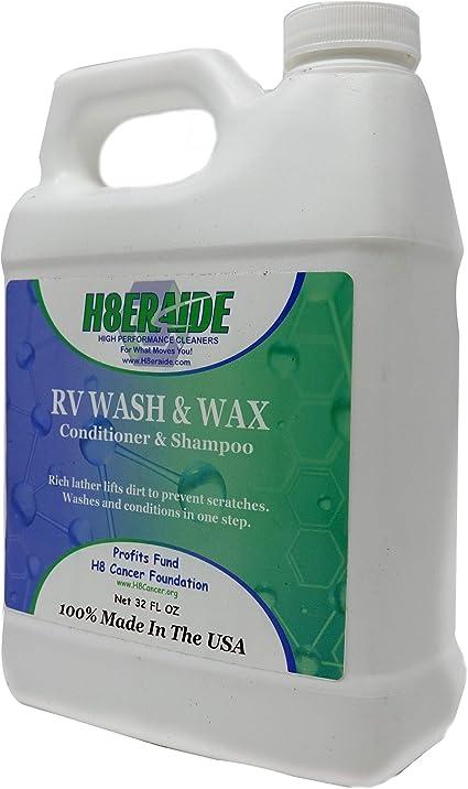 H8eraide RV Wash & Wax - Tecnología patentada que proporciona una ...