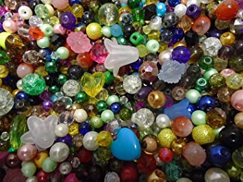 Assorted Bugle Beads Choice of Pack Sizes