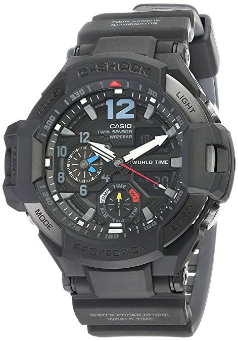 Casio G-Shock GA1100-1A1 MASTER of G GRAVITY MASTER Compass