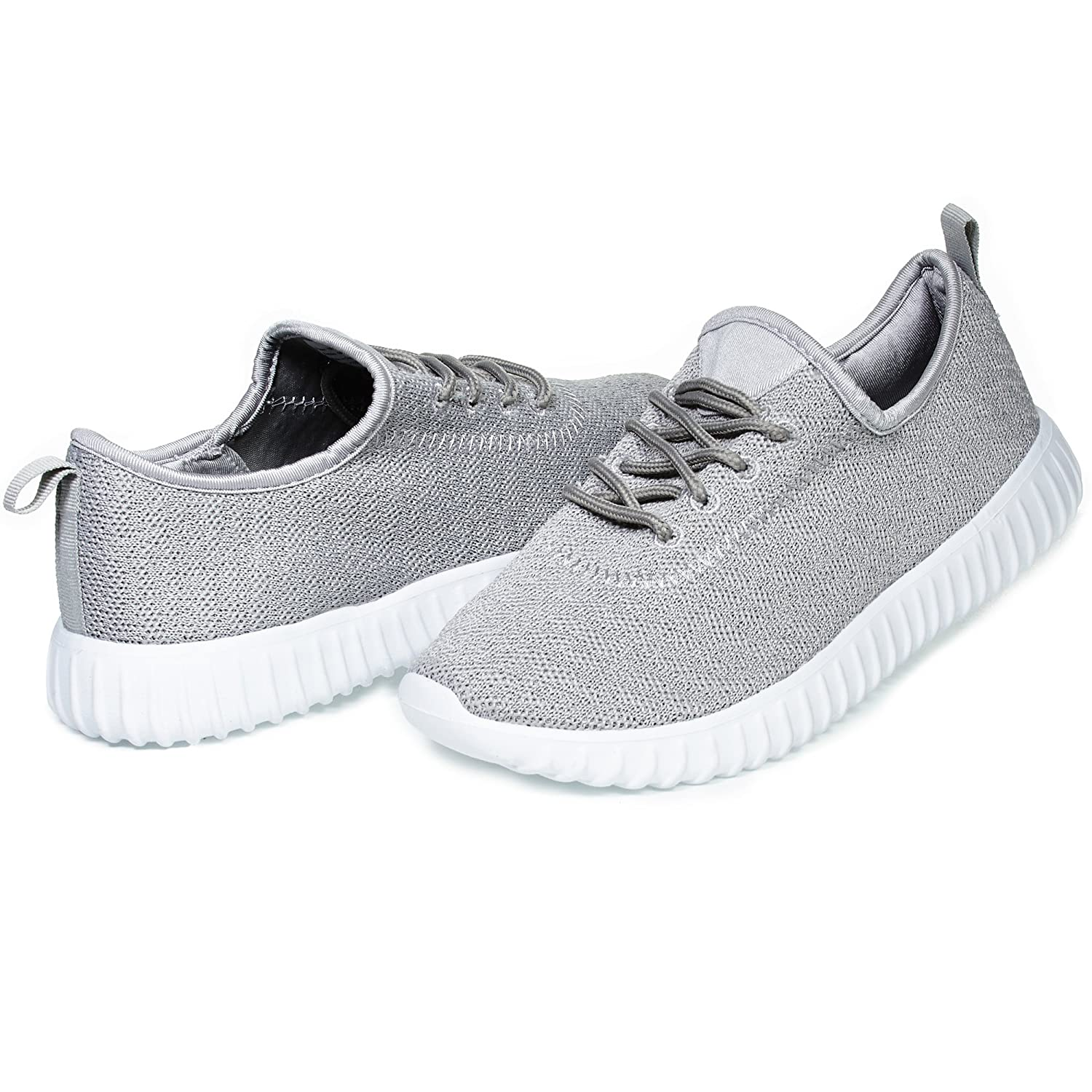 Chatties By Sara Z Womens Low Top Fashion Athletic Sneaker Shoes For Ladies Light Weight Running Walking Casual Shoes B07BB4JVYK 11 B(M) US|Grey