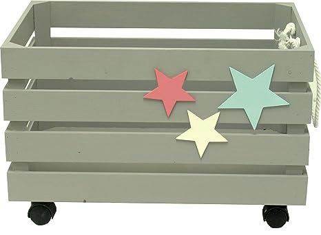 Sonpó Online - Modelo AFA29 - Juguetero organizador infantil con ruedas para almacenamiento de juguetes de