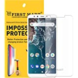 FIRST MART - A BRAND WORTH REMEMBERING Hammer Proof Tempered Screen Protector Flexible Screen Guard for Redmi Mi A2