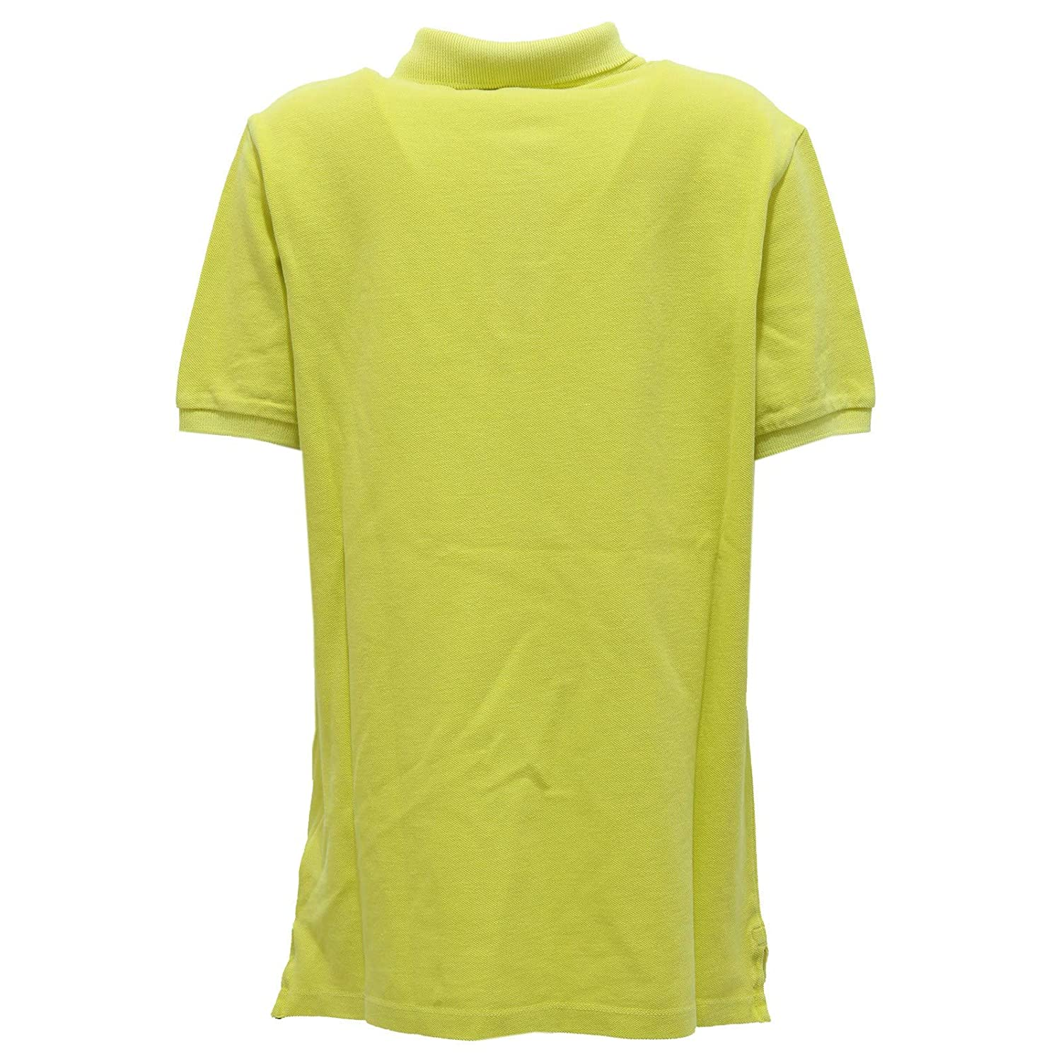 Stone Island 7288Y Polo Bimbo Boy Junior Acid Yellow Cotton Polo ...