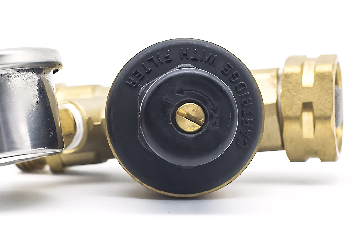 RV Water Pressure Regulator by TrustRV Well Made /& Durable Get A Perfect Shower in Your RV with This Adjustable Water Pressure Regulator