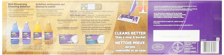 Amazon.com: Kit de inicio Swiffer Wet Jet en caja, 32694 ...