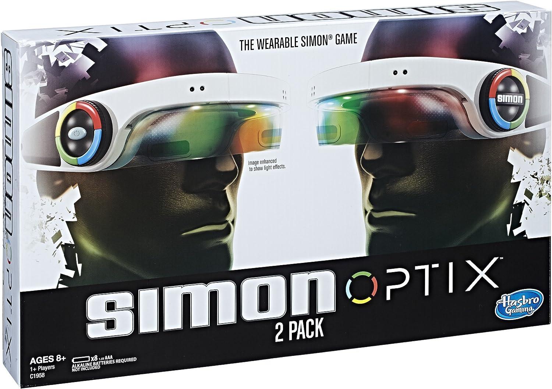 Hasbro Simon Optix – Juego 2 Unidades: Amazon.es: Juguetes y juegos