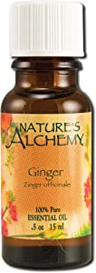 Nature's Alchemy Essential Oil Ginger, 0.5 fl oz
