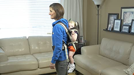 Amazon.com : 4 Posición porta bebé para una mejor vinculación con su recién nacido al Niño - Sling, Frente Frente, Rear Facing y Mochila Posiciones ...