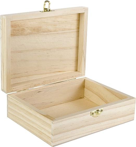 Darice 9151 – 57 Rectangular Caja de Madera, 7 – 1/8-inch: Amazon ...