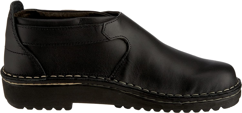 Naot Malta schwarz Damen Schuhe Halbschuhe Leder Wechselfußbett Lederfutter 6066