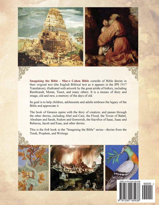 imagining the bible genesis mar e cohen bible volume 1