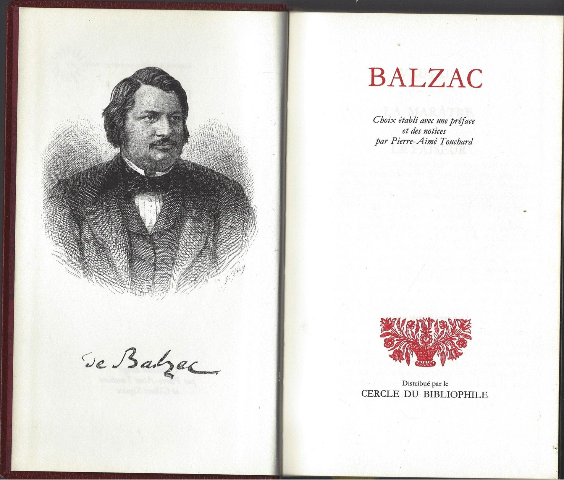 Le Theatre De Balzac Vautrin La Maratre Le Faiseur Les Genies Du