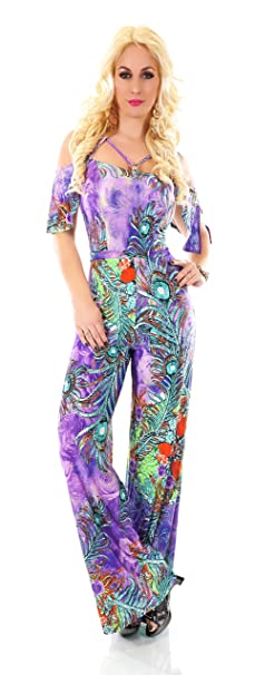 Blanco Store - Chándal Elegante Mujer Overall Floral Jumpsuit ...