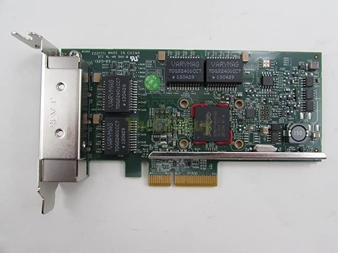 0TMGR6 Dell 4 Port Network Interface Card TMGR6 Low Profile Bracket