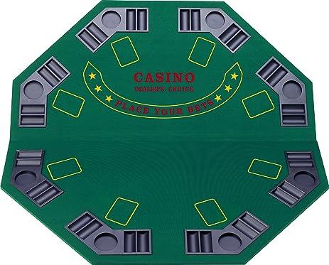 Amazon.com : Fat Cat Folding Blackjack/Poker Game Table Top ...