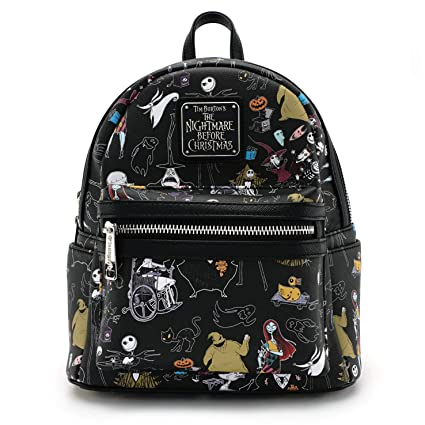 5c4ff4d055a Buy Loungefly X Nightmare Before Christmas Character Mini Backpack Online  at Low Prices in India - Amazon.in
