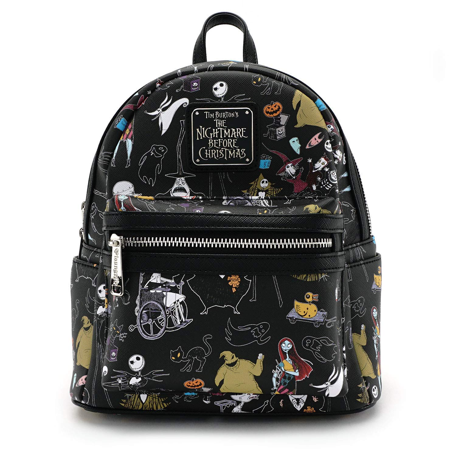 Loungefly x Nightmare Before Christmas Women's Allover-Print Character Mini Backpack WDBK0296