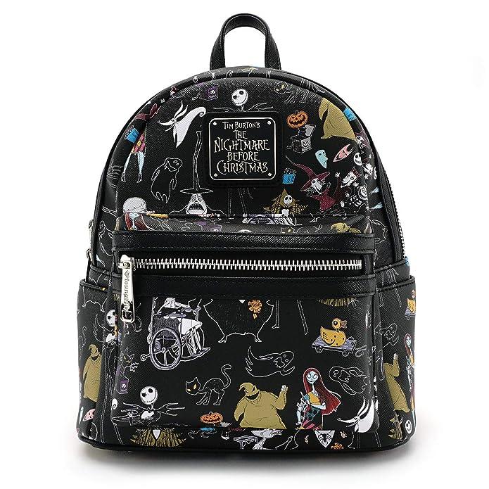 Loungefly - Disney - Nightmare Before Christmas Jack Skellington Characters Mini Backpack