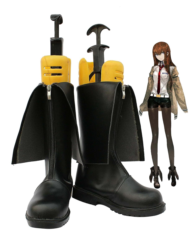 Telacos Steins Gate Makise Kurisu Cosplay Shoes Boots Custom Made 6 B(M) US Female