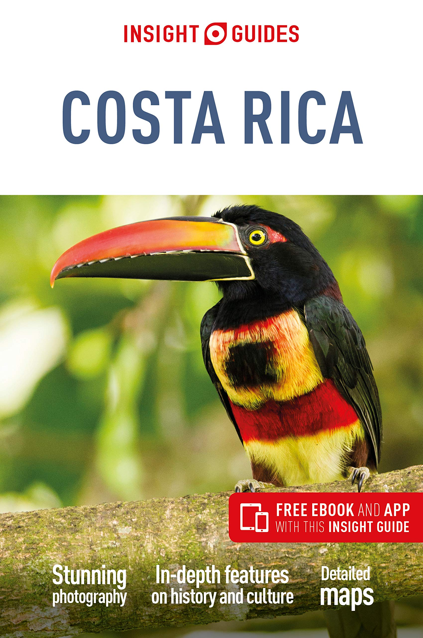 Insight Guides Costa Rica Travel Guide With Free Ebook Guides Insight 9781789190939 Amazon Com Books