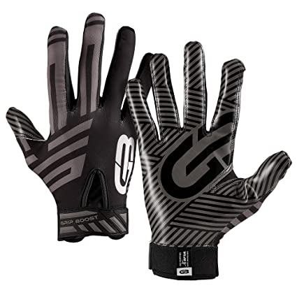 Amazon.com   Grip Boost G-Force Football Gloves Youth and Adult ... c524eff2a