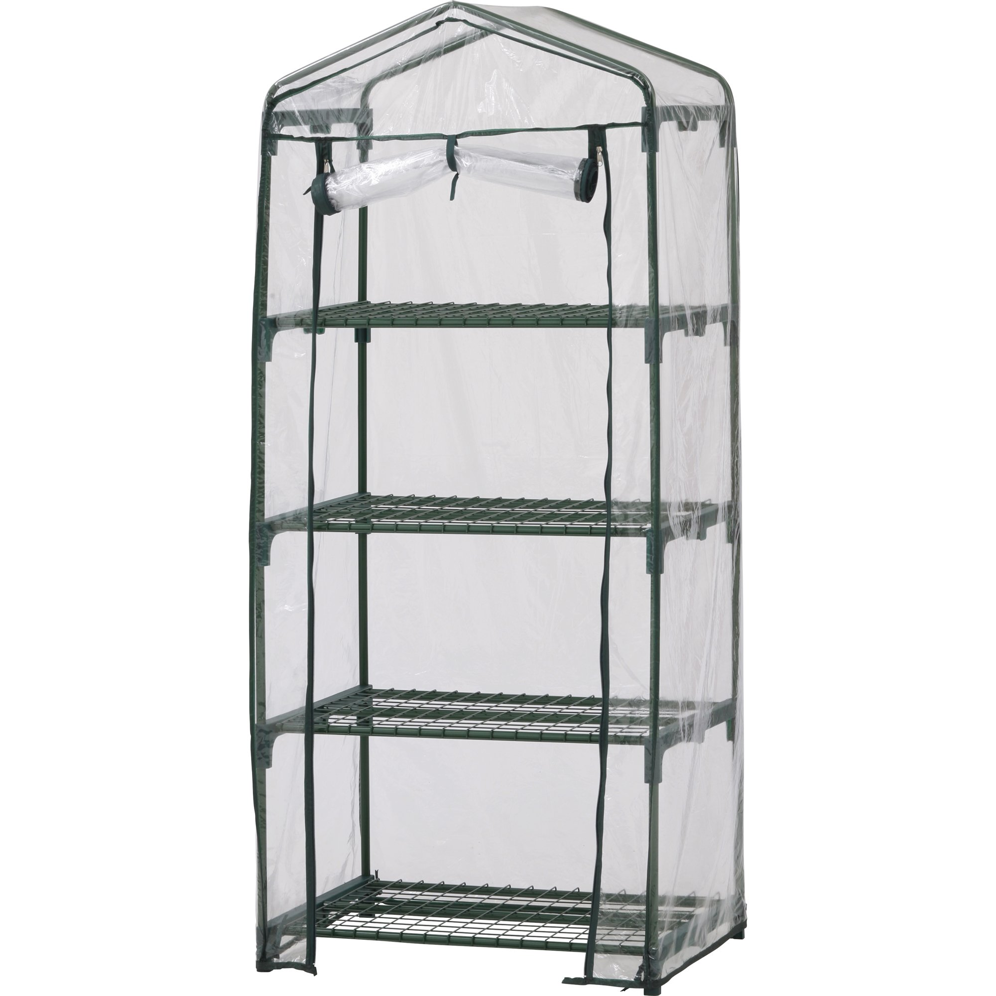 Early Start 4 Shelf Greenhouse, 40W Inch X 20D Inch X 66H Inch