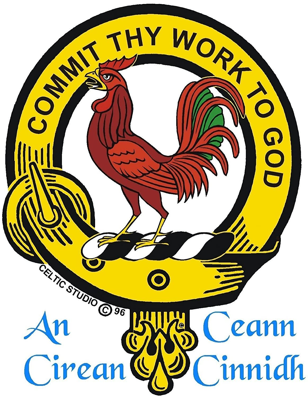 Sinclair Scottish Clan Crest Sgian Dubh