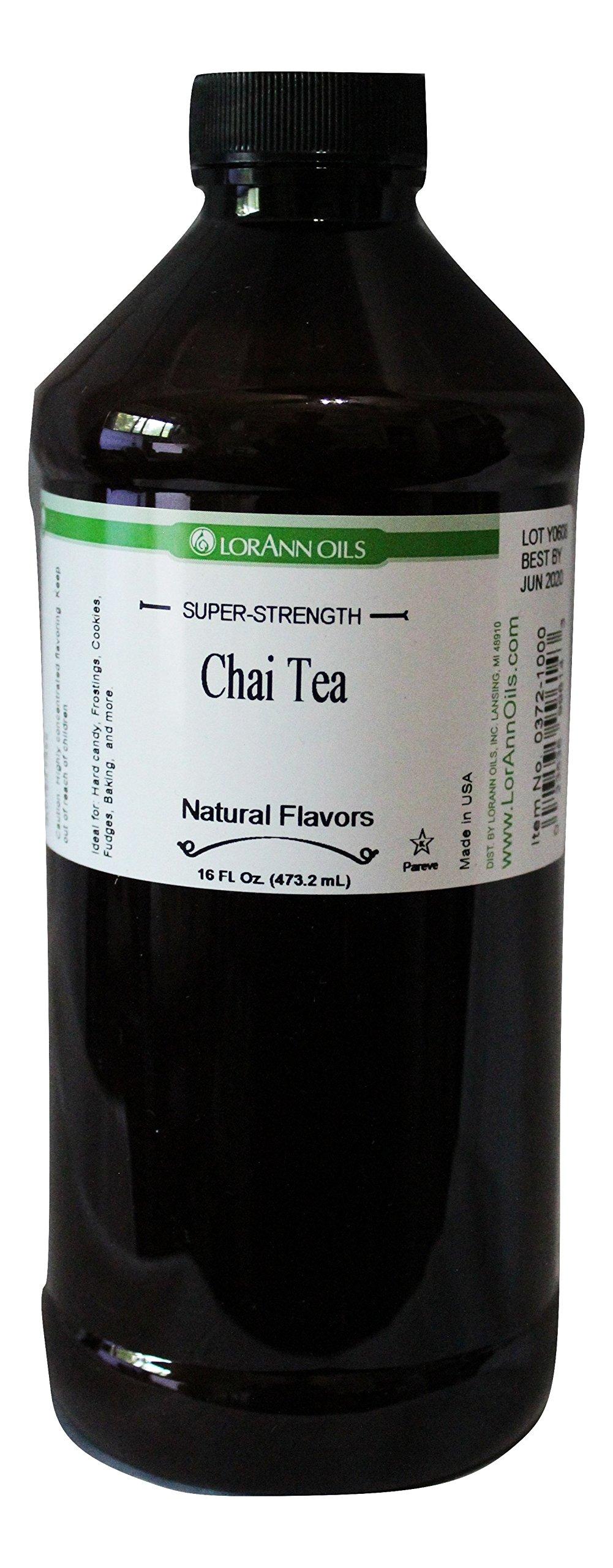 Chai Tea LorAnn Super Strength Flavoring 16 Ounce by LorAnn Oils